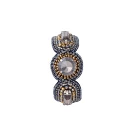 Bungalow Armbanden Pearl Black Gold kies uit 6 varianten
