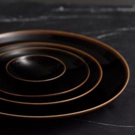 Loveramics Studio Black dinerbord 28 cm