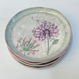Bloom servies ontbijtbord allium (B) 22 cm