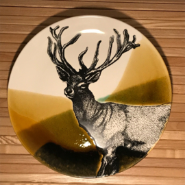 Hunting servies dinerbord 30 cm hert