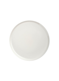 Plate Oiva round white 20 cm