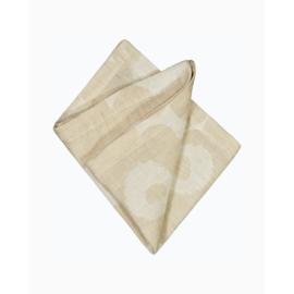 Marimekko linnen-katoenen servet Unikko beige 45 x 45 cm