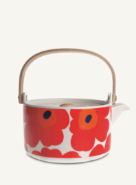 Teapot Unikko Red 7 dl