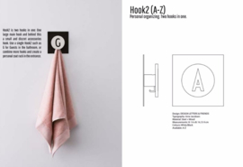 Hook2, twee haken in een Design Letters