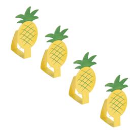 Tafelkleedklemmen: kies uit citroenen, watermeloenpartjes of ananassen