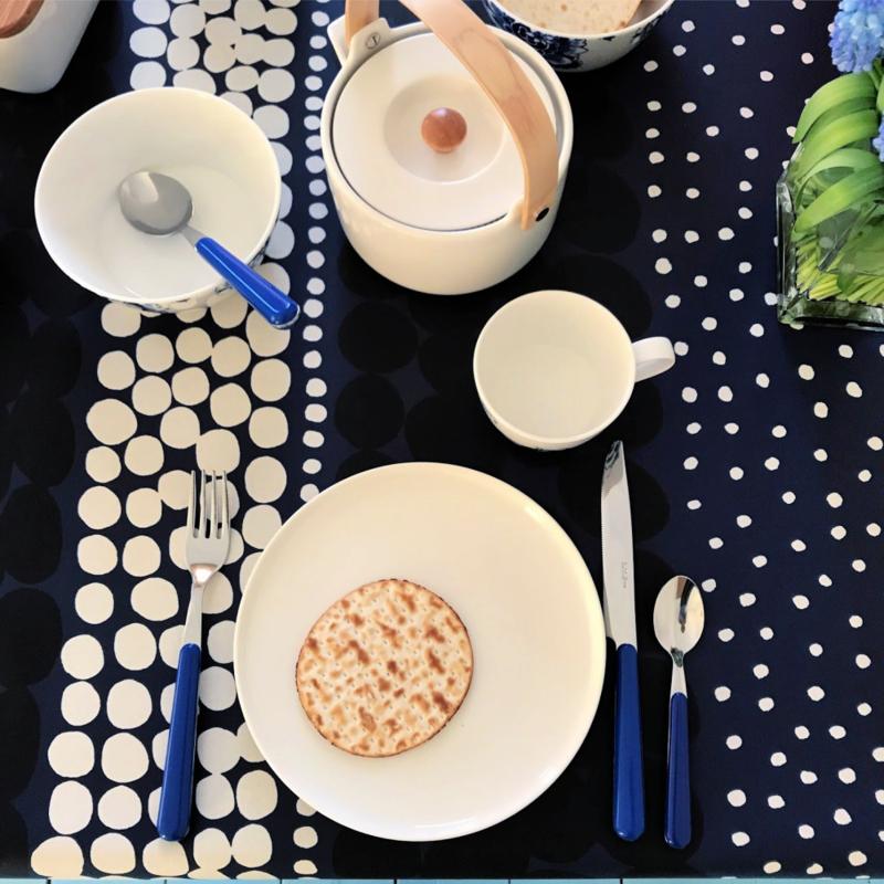 Marimekko Ontbijtbord Oiva rond wit 20 cm