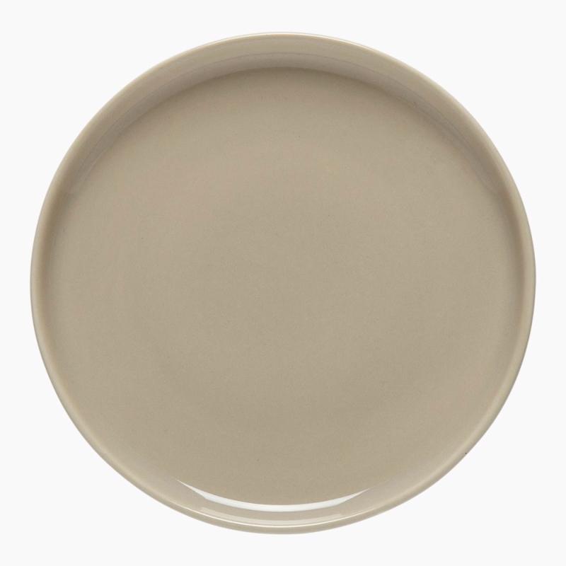 Marimekko Oiva bordje beige 13,5 cm