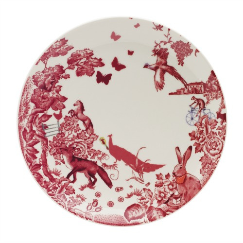 A Curious Toile dinerbord 27 cm