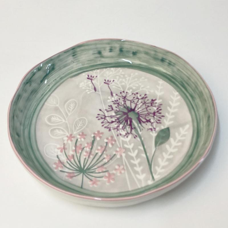 Bloom servies serveerschaal allium 30 cm (B)