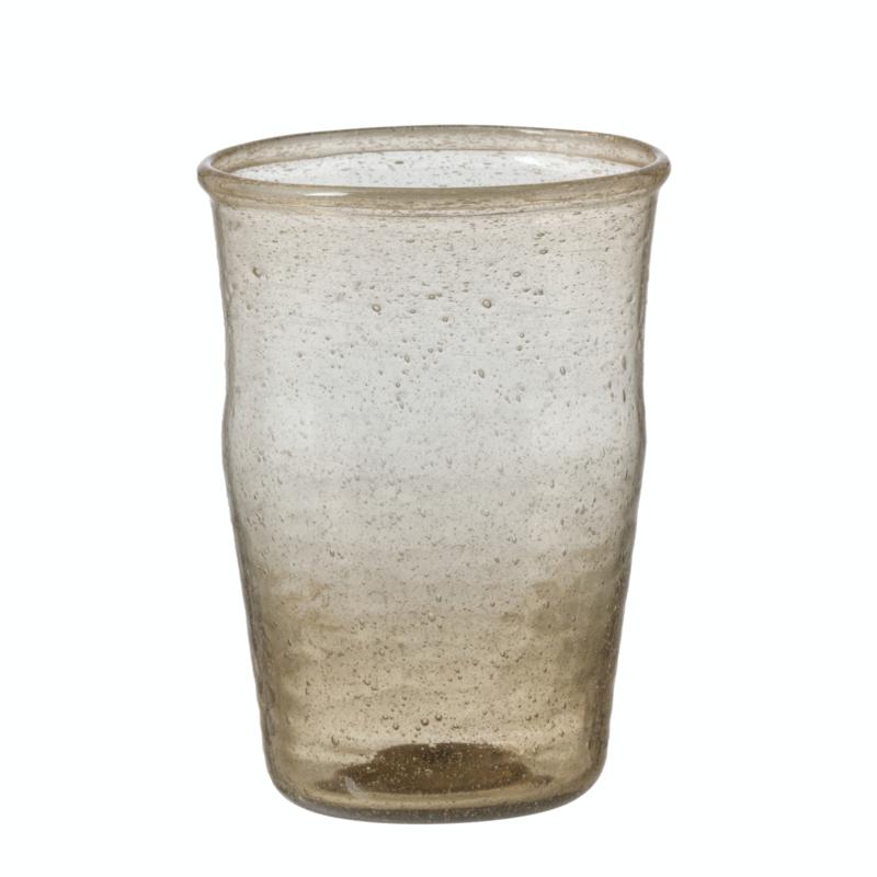 Bungalow belletjesglas smoke 230 ml