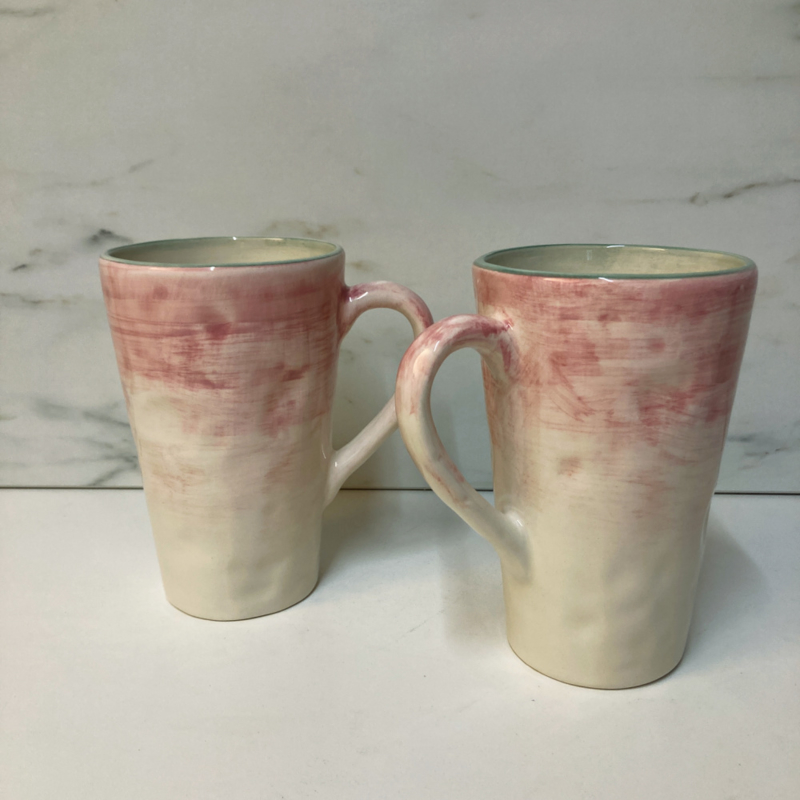 Only Rose servies XL mok 500ml, 10 x 15 cm