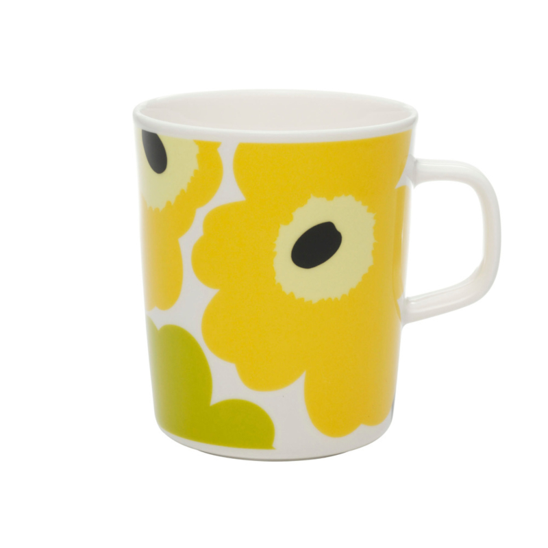 Mug Unikko yellow 2,5 dl