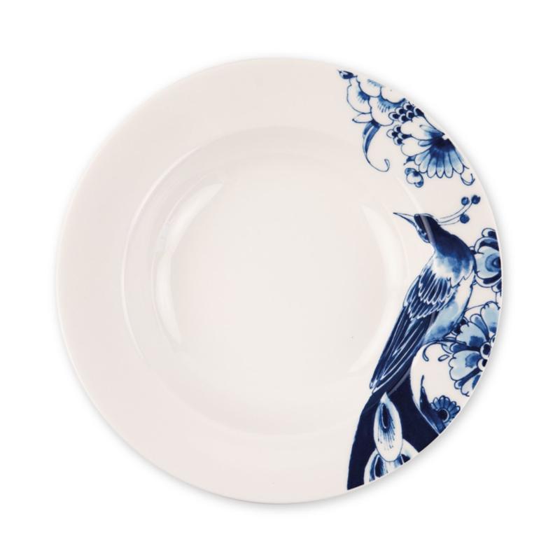 Soup plate Peacock Symphony