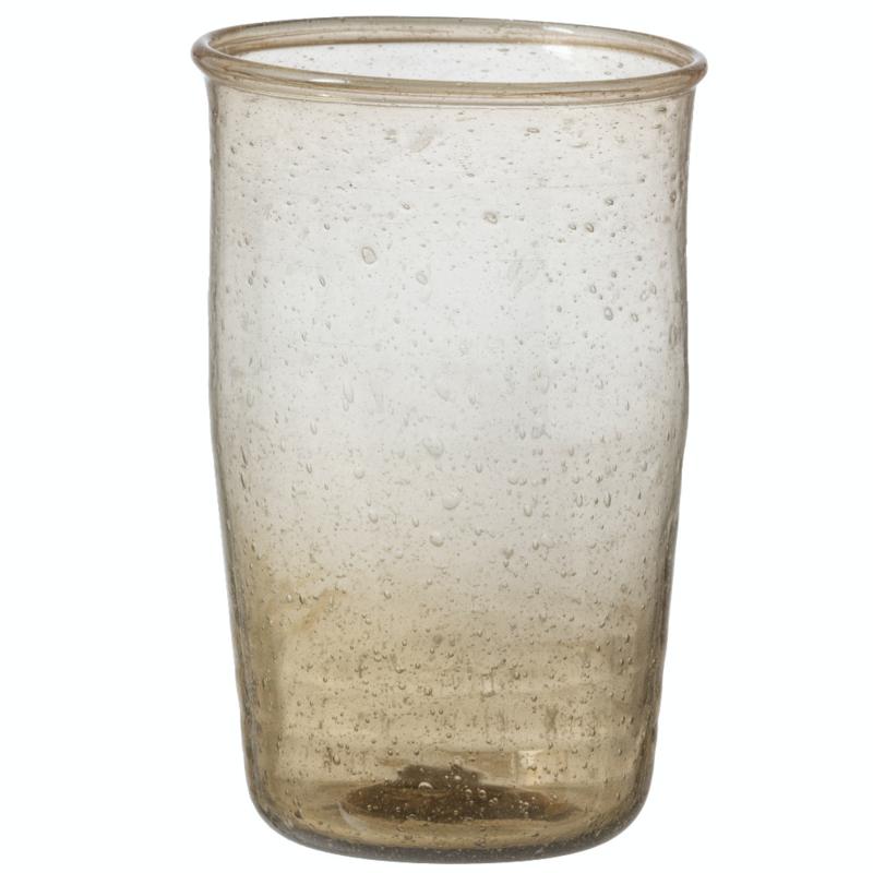 Bungalow belletjesglas smoke 410 ml