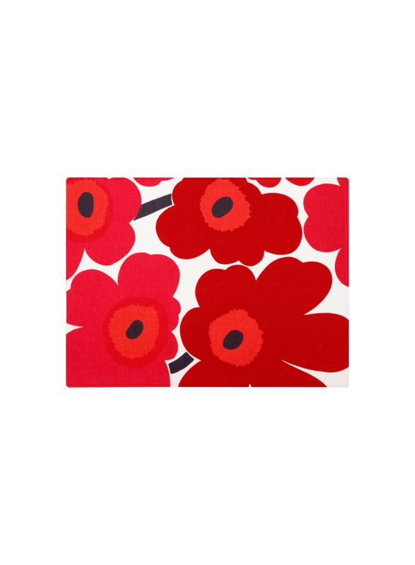 Pieni Unikko placemat Red 42 x 31 cm