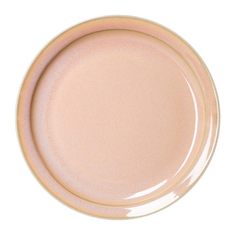 Er-go! roze dinerbord 26,5 cm