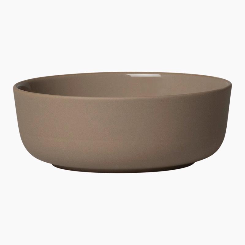 Marimekko Oiva terra schaal 4 dl bruin steengoed