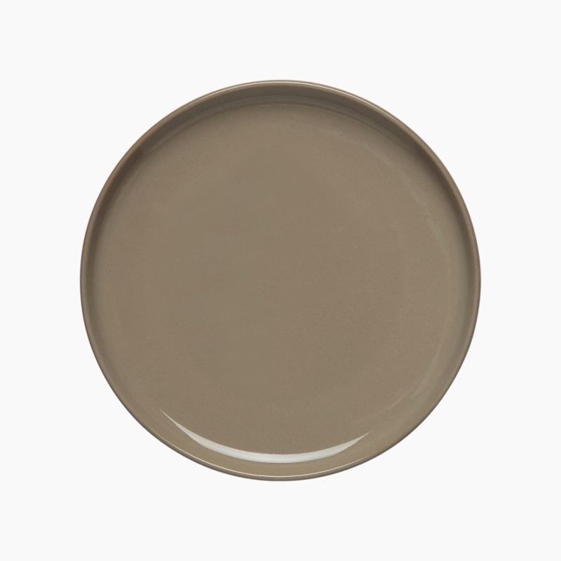 Marimekko Oiva terra bord 13 cm bruin steengoed
