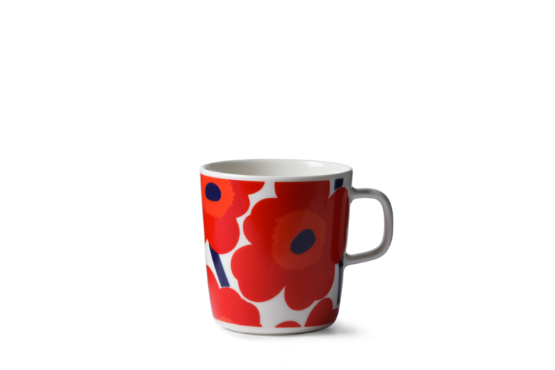 Mug Unikko Red 4 dl