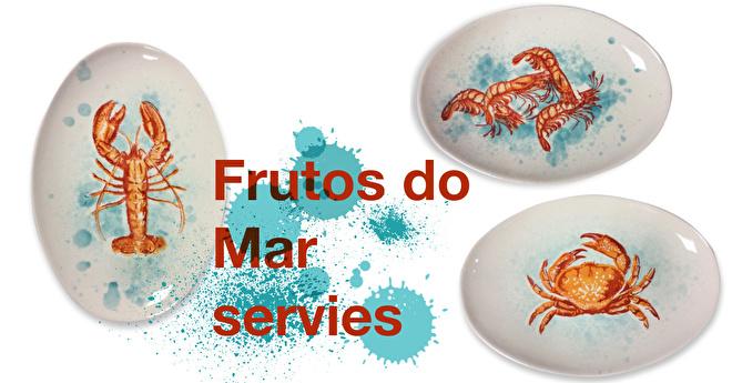 Frutos do mar fruits de mer servies