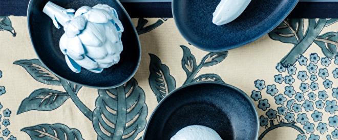 Bungalow tafelkleden, servetten, placemats