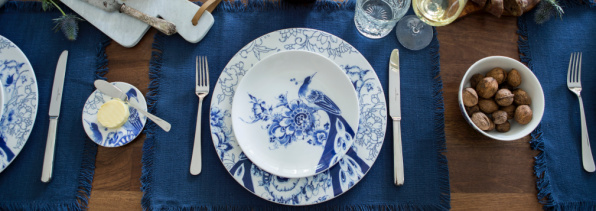 Royal Delft Peacock Symphony