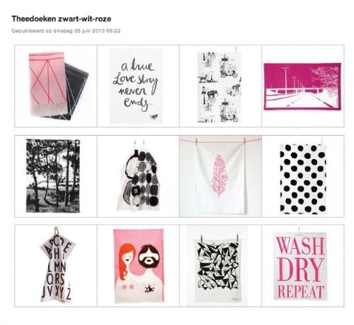 theedoeken design letters stijlkaart