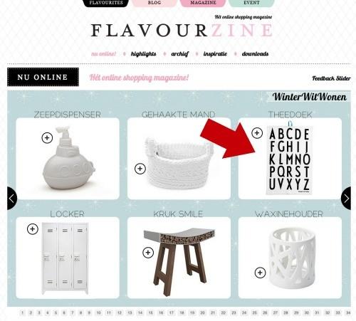 flavourzine januari 2013