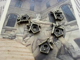 Pendant | Birdshouse Bronze | 15x13mm