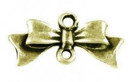 D44/1 Bow Connector - Bronze 20 stuks