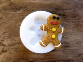 Miniature Mould | Gingerbreadman