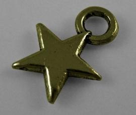 D27/1 Hanger - Star brons 10mm 25 stuks