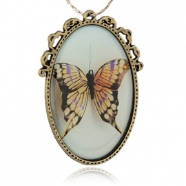 Miss Doris | handmade necklace | BUTTERFLY