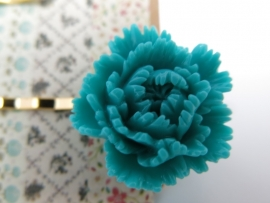 Miss Doris | Moise set of 2 hairpins | Turquoise & Gold