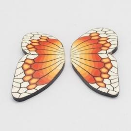 A25 Handmade polymer - Butterfly Wings [50 stuks]