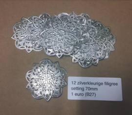 B27 filigree setting 70mm