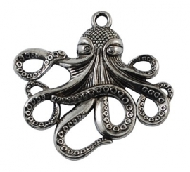 E18/2 DIY hanger - Octopus zilver