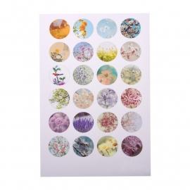 Sillis Scrapbook Stationery   Collage Sheet 18mm L027 03
