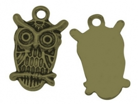 DIY hanger - Owl old bronze