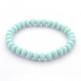 Miss Doris | handmade bracelet | Pale Turquoise