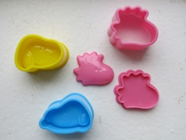 Bento   Cookie Cutters set   Snoopy moulds set of 3
