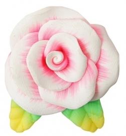 L35 Pearl Pink Flower | 27x32mm 5 stuks