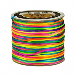 Rainbow | NEON cord | Thread 1mm 73meter