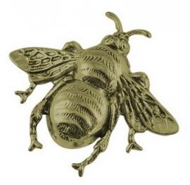 L54 Insect Hanger - bronze 41x36mm 2 stuks