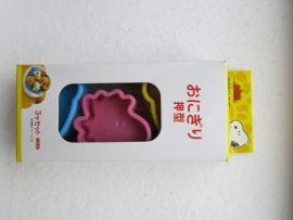 Bento | Cookie Cutters set | Snoopy moulds set of 3