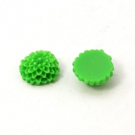 K07 Flatback cabochon | mini chrissie 10mm | GREEN (30pcs)