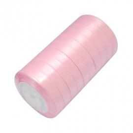 Satin ribbon 12mm 22meter PINK 1 rol