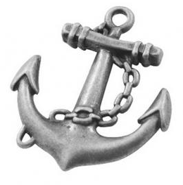 L30 Sail Away | Anchor charm | silver 32x27mm