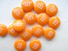 Resin Candy  - 14mm ORANGE (10 pcs)