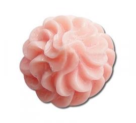 K40/2 Kawai | Decoden | resin cabochon Pink swirl 15x15x10mm 15 stuks